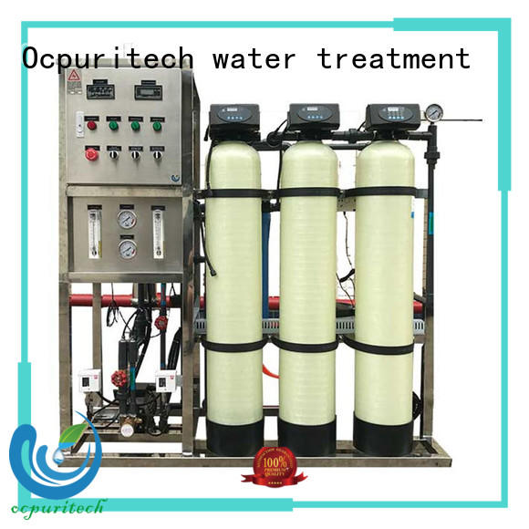 Ocpuritech industrial ro water plant personalized for seawater