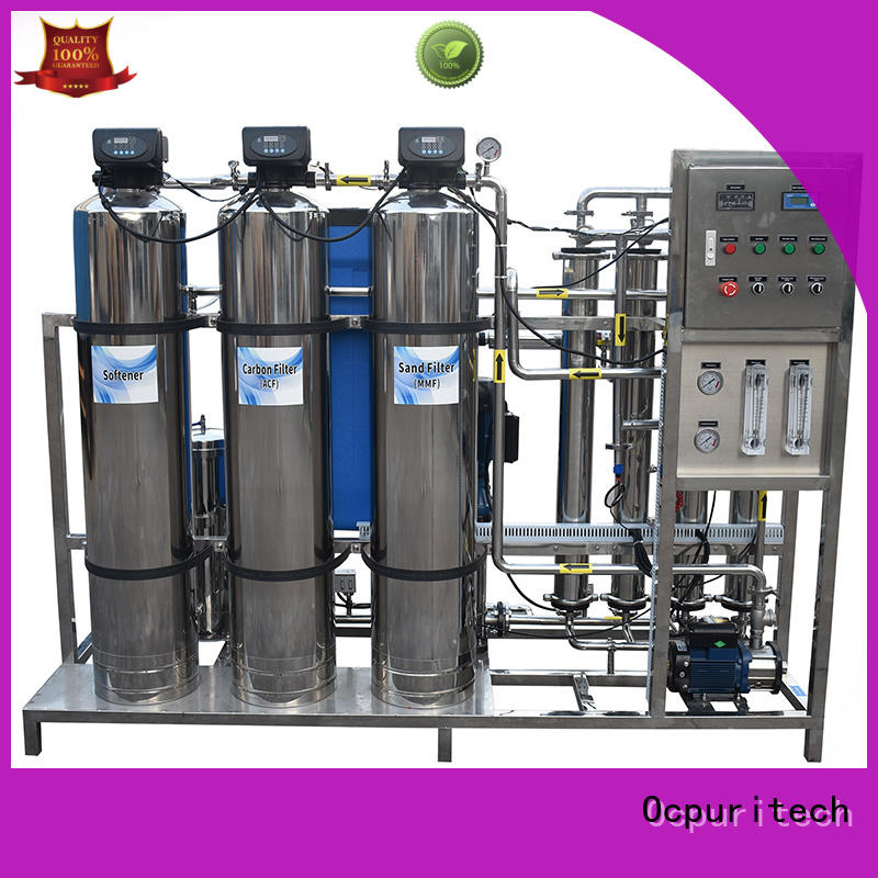 4000lph water treatment equipment suppliers directly sale for chemical industry