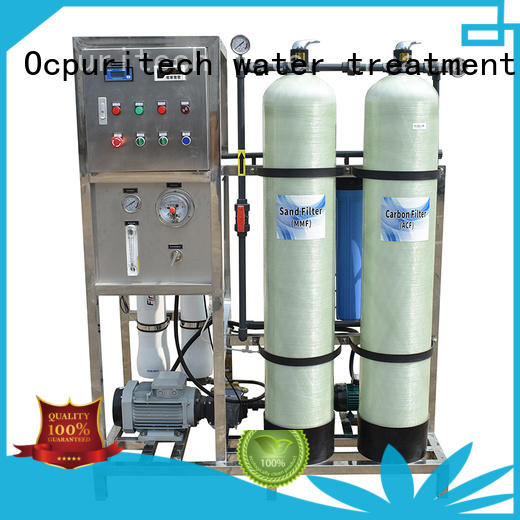 Ocpuritech best water treatment system manufacturer from China for factory