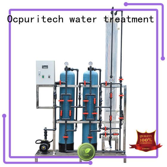 Ocpuritech exchange deionizer design for medicine