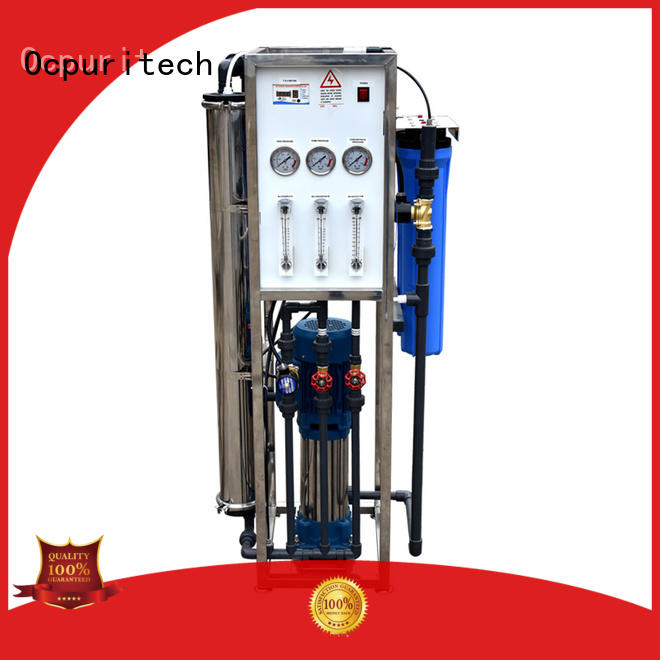 Ocpuritech ro machine personalized for seawater