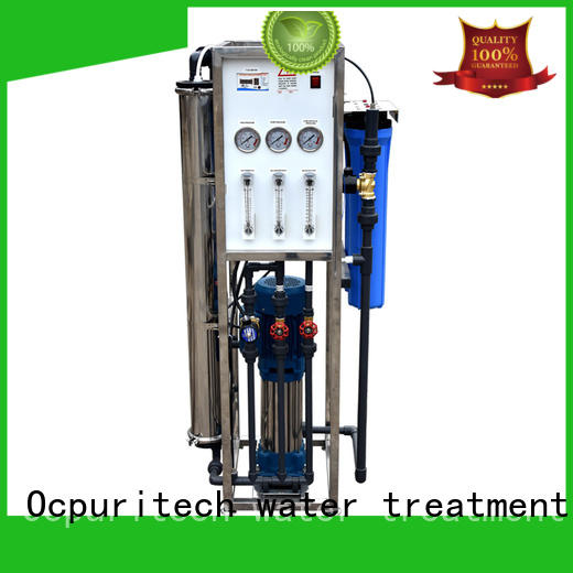 reliable industrial ro plant 10t company for food industry