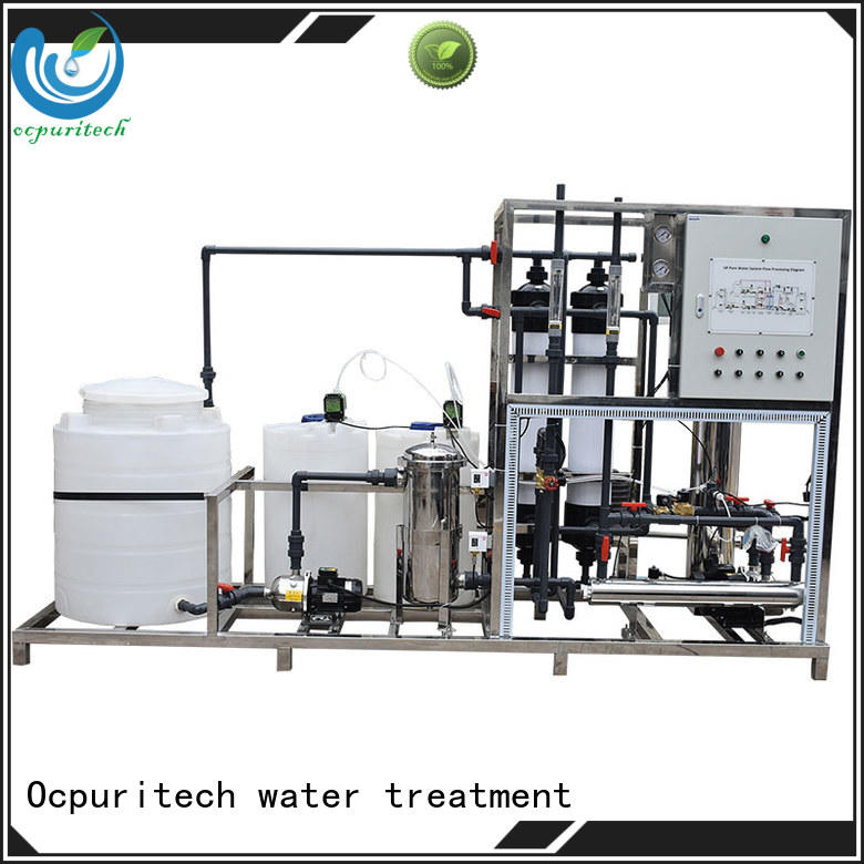 SUS304 Raw water pump &accessories ultrafiltration system Schneider Relay,AC Central controlling system factory price Ocpuritech Brand