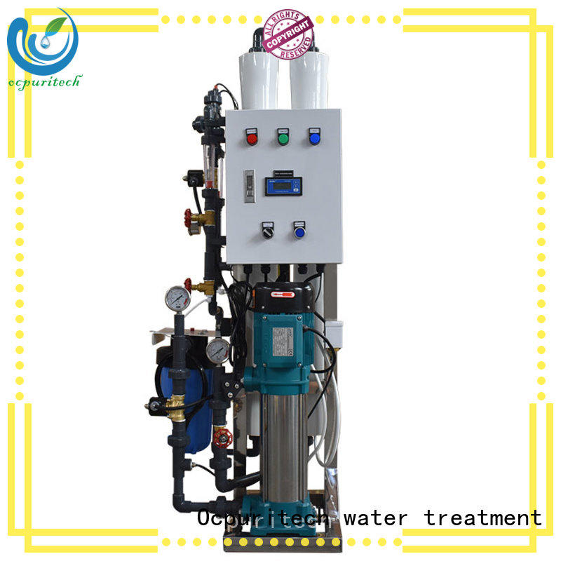 Ocpuritech 500lph water purification plant manufacturers manufacturer for chemical industry