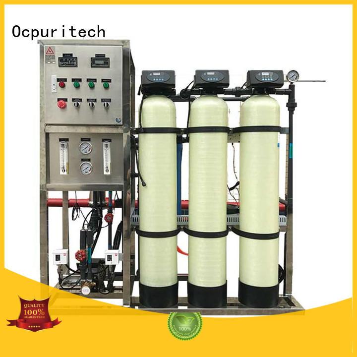 Ocpuritech ro water plant Fivestar Hotel