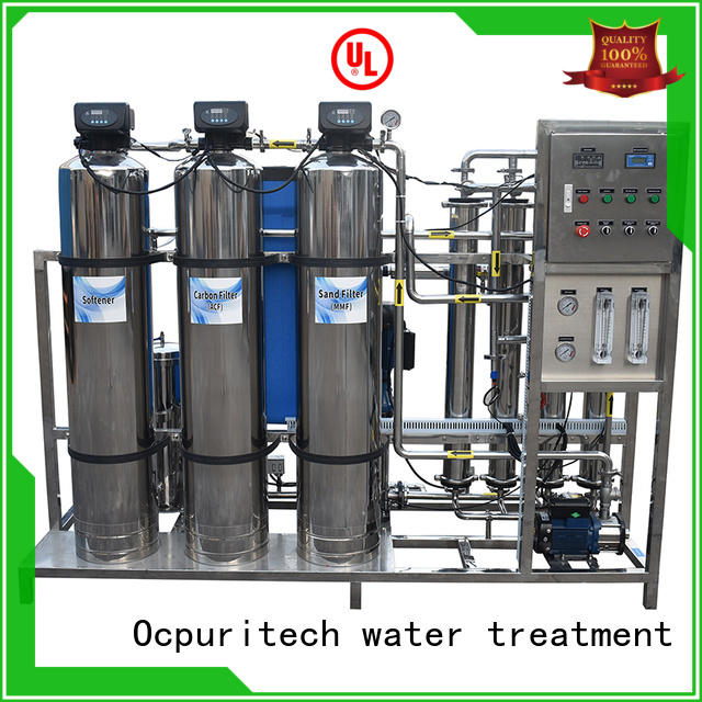 Ocpuritech water purification plant manufacturers series for chemical industry