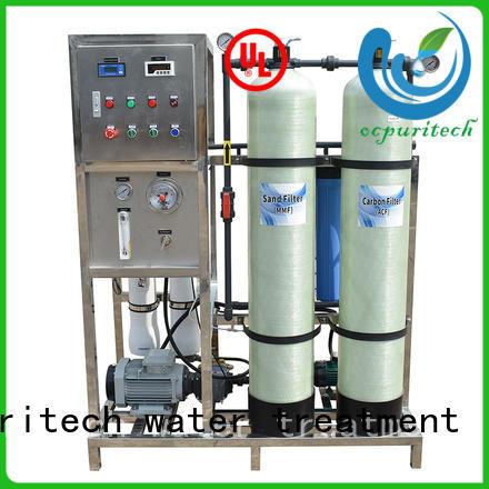 Ocpuritech water desalination series for factory