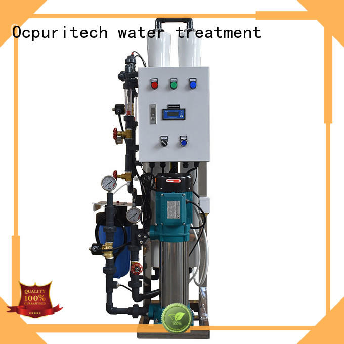 Ocpuritech per well water filtration system personalized for agriculture