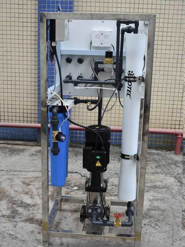 Ocpuritech-Best Mineral Water Plant 250lph Industrial Water Reverse Osmosis System-1