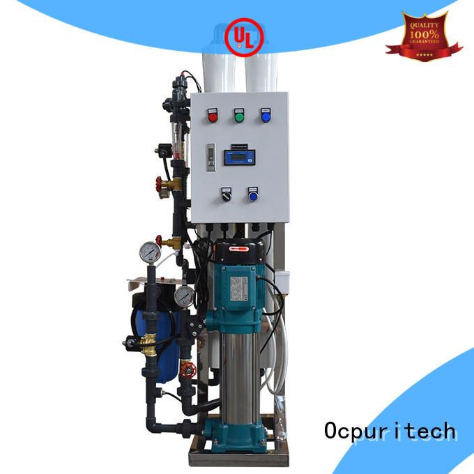 Ocpuritech water purification equipment manufacturer series for factory