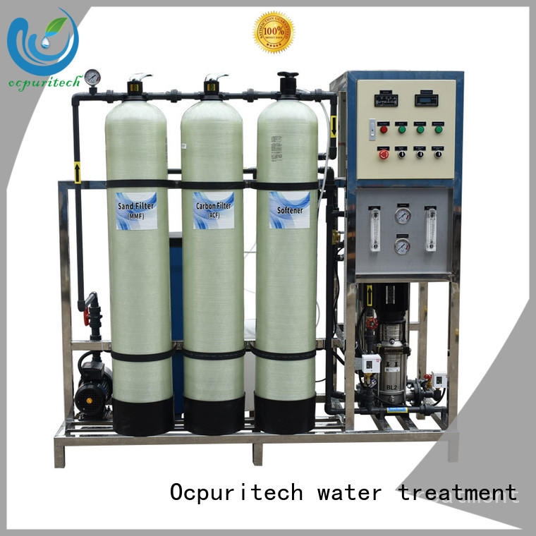 24000 reverse osmosis unit gpd for four star hotel Ocpuritech