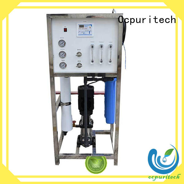 Hot Water Purification ro water filter Desalination 96%-99% Ocpuritech Brand