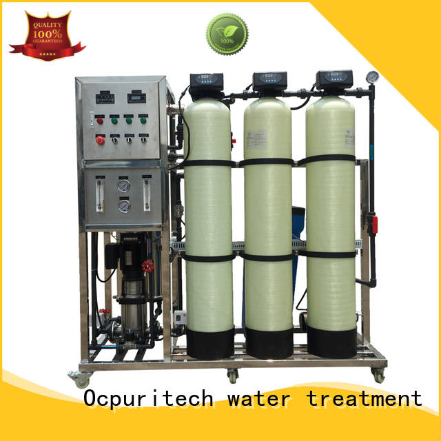 Ocpuritech stable mineral water treatment plant for food industry