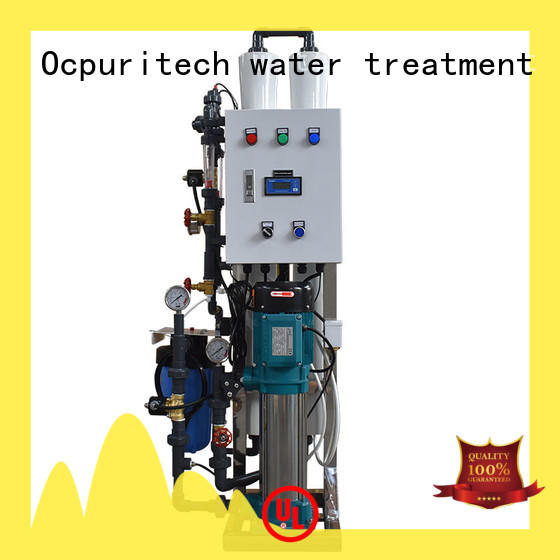 Ocpuritech bed industrial water treatment systems manufacturers supply for factory