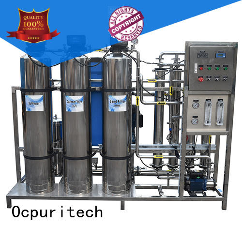 Ocpuritech industrial water treatment plant company from China for factory