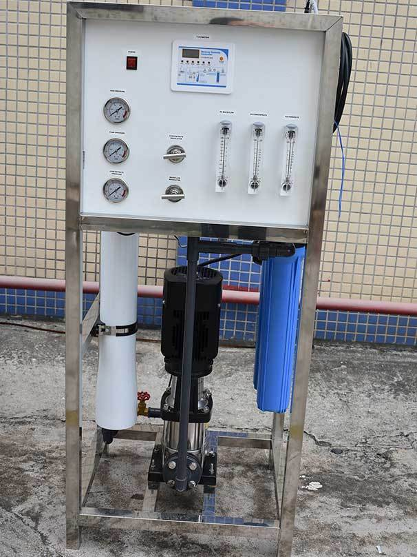Ocpuritech-Professional 250lph Industrial Water Reverse Osmosis System Ro Plant Supplier