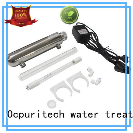 Ocpuritech industrial water filter parts customized for industry