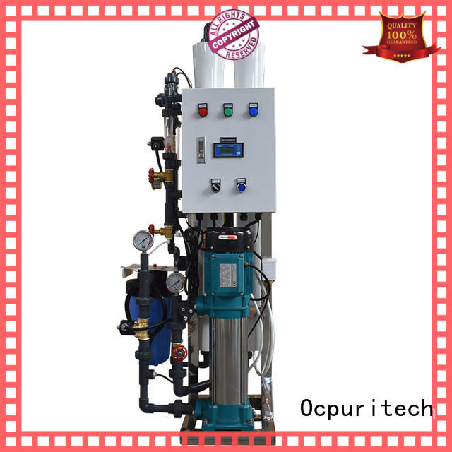 Ocpuritech exchange water treatment systems series for industry