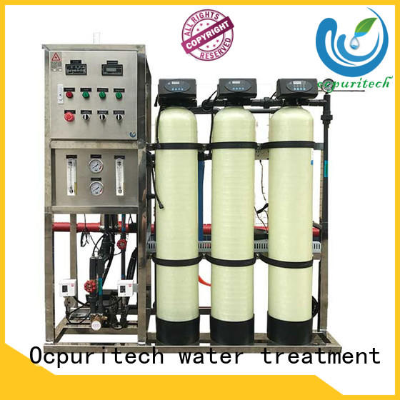 Ocpuritech stable industrial reverse osmosis water system supplier for agriculture