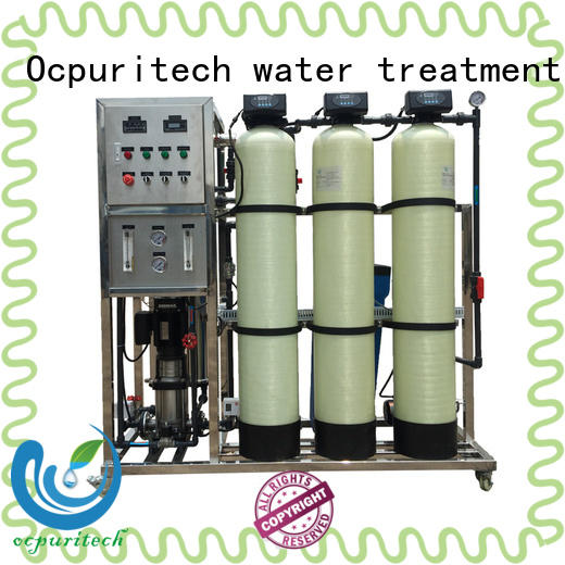 Ocpuritech reverse osmosis water system supplier for seawater