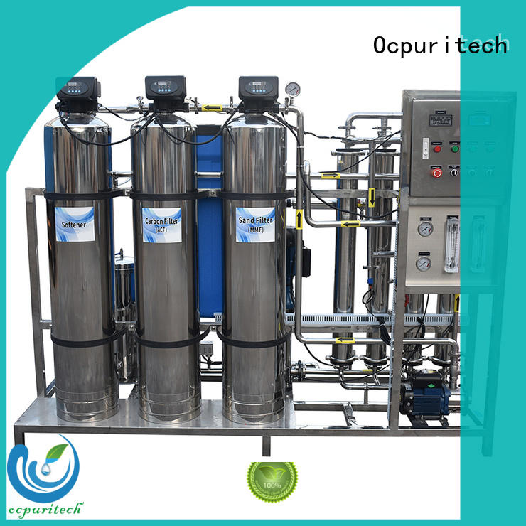 Ocpuritech 250lph ro machine personalized for food industry