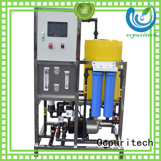 Ocpuritech 2000lph pure water treatment plant for chemical industry