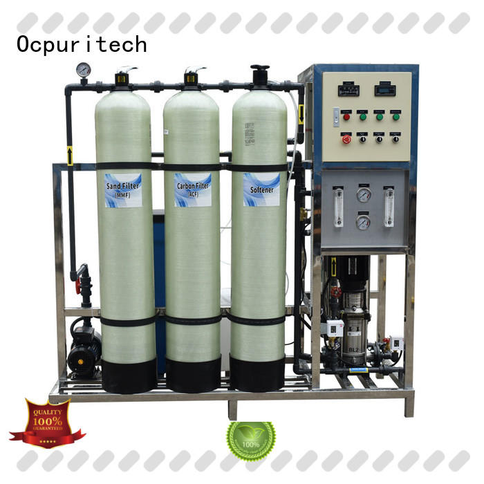 Ocpuritech reverse osmosis system cost factory price for agriculture