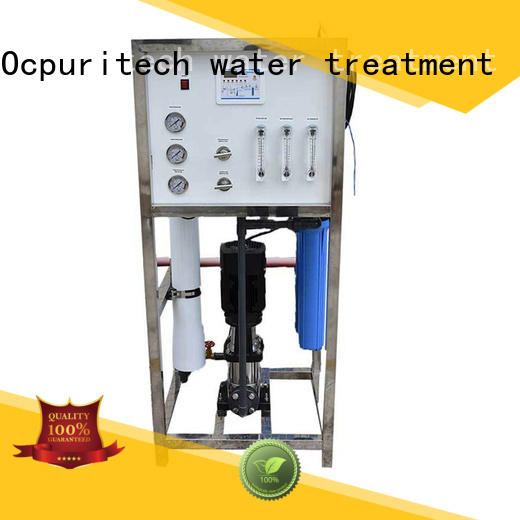 Ocpuritech reliable ro system supplier for seawater