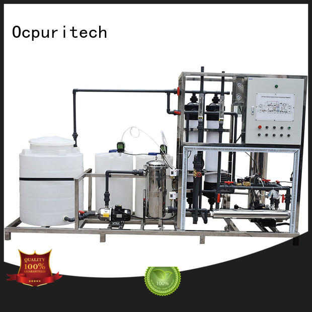 Hot factory price ultrafiltration system Schneider Relay,AC Central controlling system Ocpuritech Brand