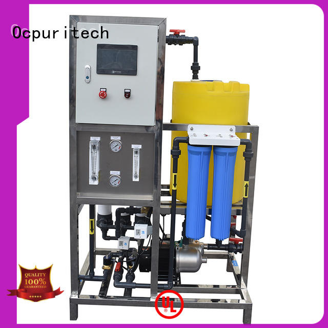 commercial ultrafiltration membrane system 500lph supplier for seawater
