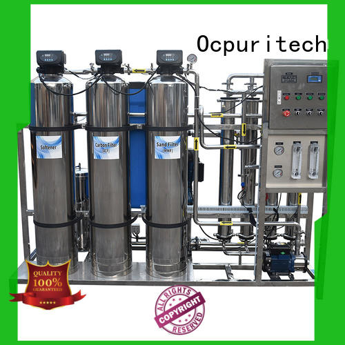 Ocpuritech 500lph water treatment system manufacturer from China for industry