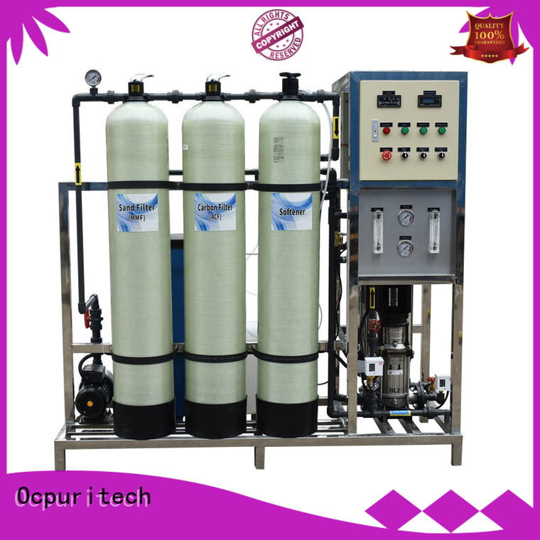 Ocpuritech commercial ro water system supplier for food industry