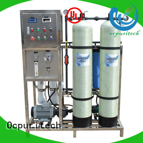 Ocpuritech water desalination from China for chemical industry