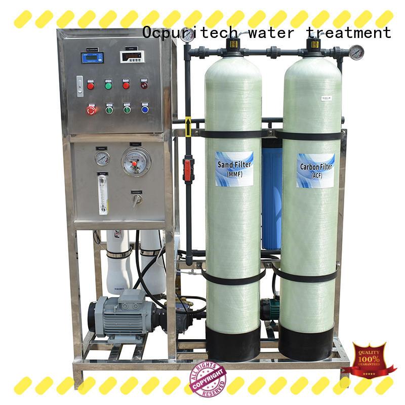 Ocpuritech efficient water treatment system manufacturer manufacturer for factory
