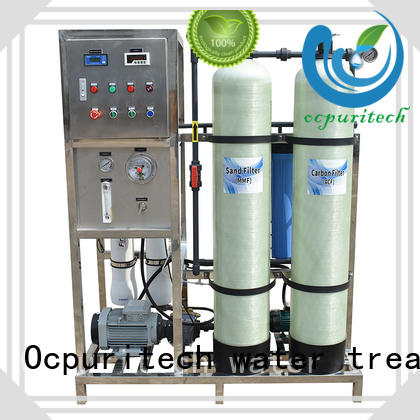 Ocpuritech 750lph water treatment systems directly sale for industry
