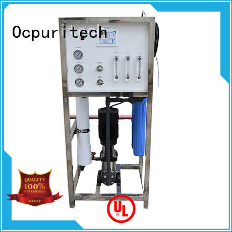 Ocpuritech reverse ro plant industrial personalized for seawater