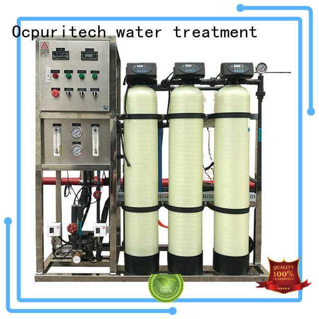 Ocpuritech commercial reverse osmosis machine personalized for seawater