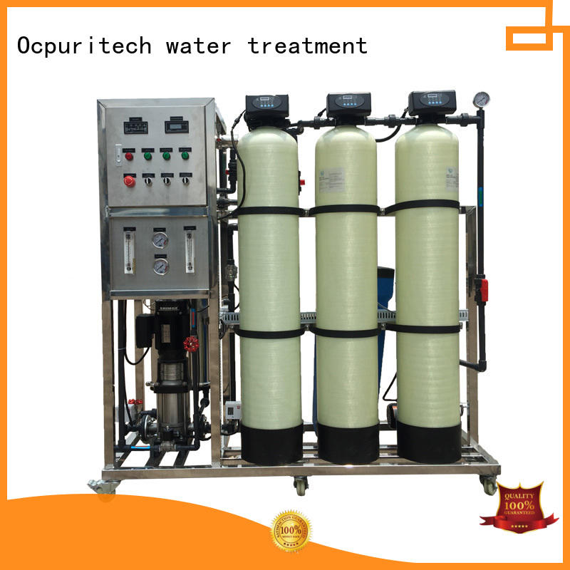 mineral water treatment plant for food industry Ocpuritech