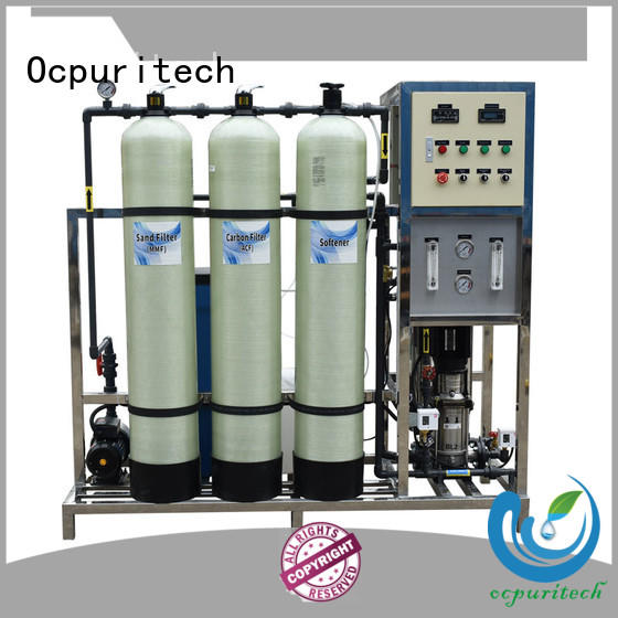 Ocpuritech industrial reverse osmosis water system personalized for seawater