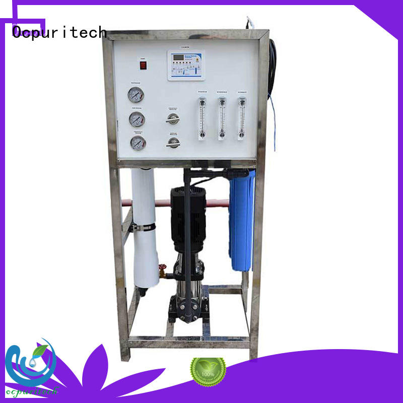 Ocpuritech treatment well water filtration system supplier for food industry