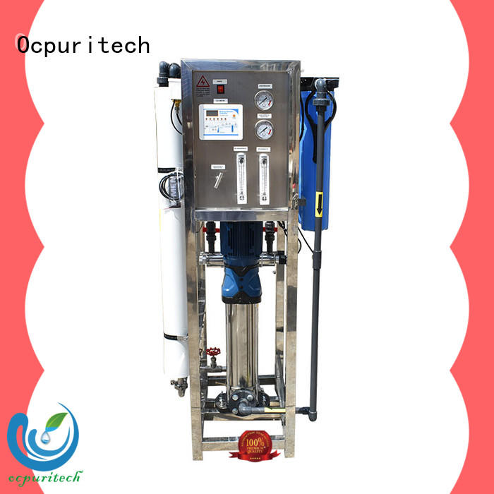Ocpuritech industrial water treatment systems manufacturers directly sale for industry