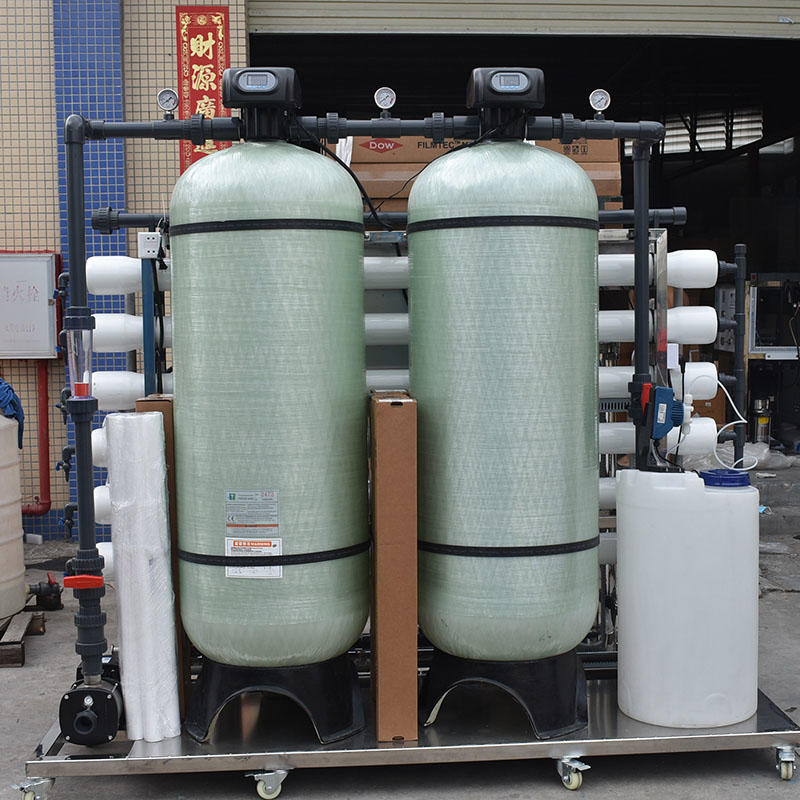 3000LPH 18000 GPD  industrial Reverse Osmosis RO membrane water purification methods-1
