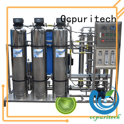Ocpuritech industrial water treatment companies factory price for agriculture