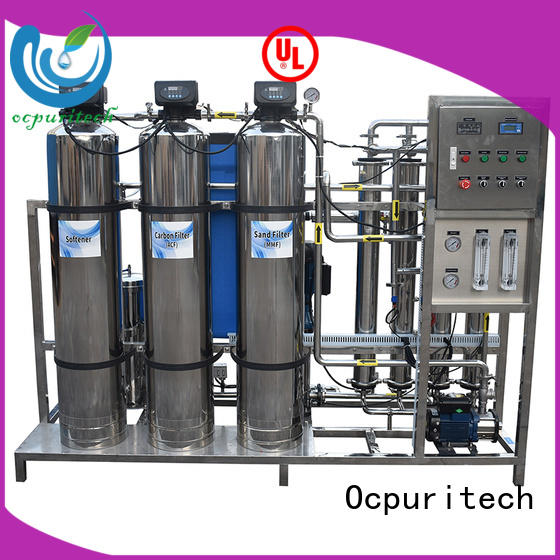 Ocpuritech water treatment plant manufacturers customized for factory