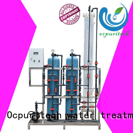 Ocpuritech quality ro plant supplier series for factory