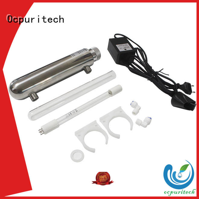 Ocpuritech practical water filter parts manufacturer for factory