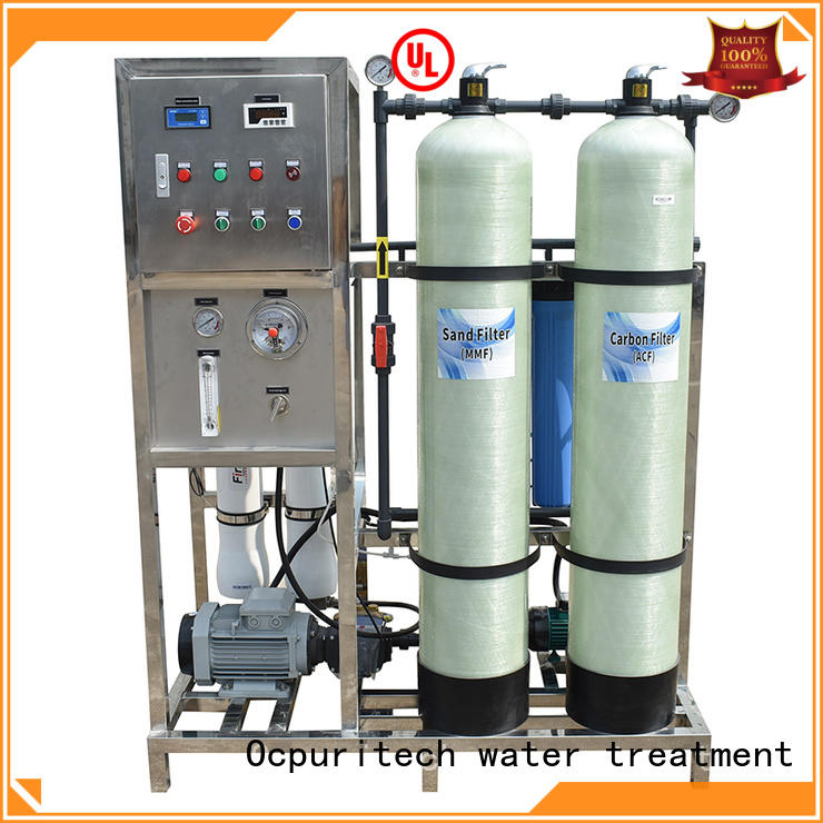 Ocpuritech 3000lph water treatment equipment suppliers from China for factory