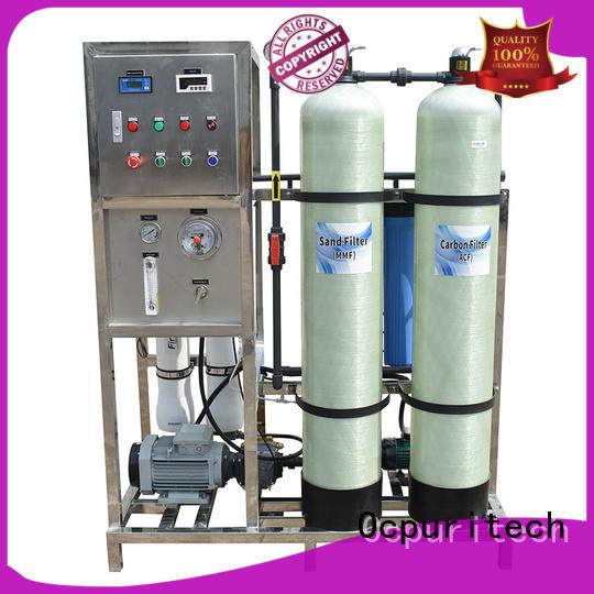 Ocpuritech industrial water desalination manufacturer for factory