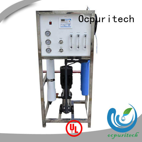 Ocpuritech industrial ro plant manufacturer factory price for food industry