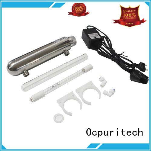 Ocpuritech top uv sanitizer design for chemical industry